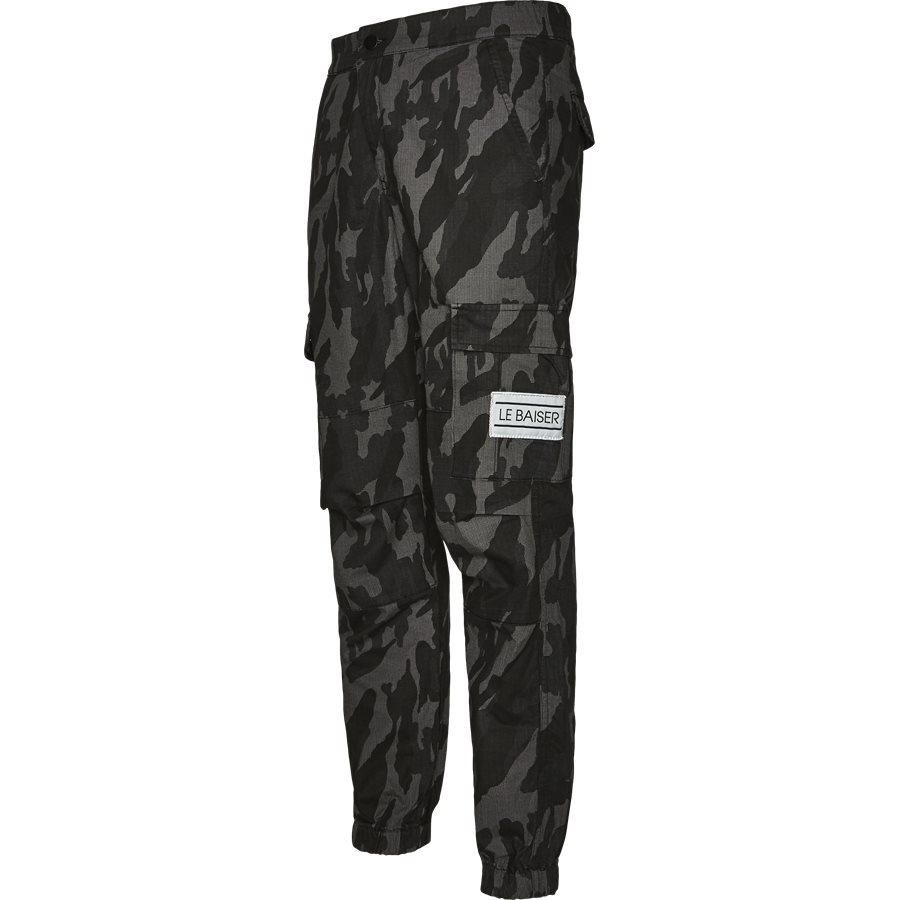 RAS CARGO PANT - Ras Cargo Pant - Bukser - Regular - GRÅ CAMO - 4